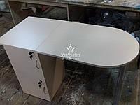 Стол для маникюра, складной маникюрный столик Модель А65 белый, фото 1
