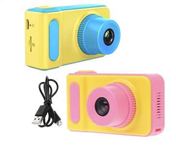 Дитяча цифрова камера T1 Kids Mini Camera Фотоапарат міні з іграми для дітей smart kids Фотокамера від 3 років