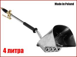 Пневматический шубомет ковш для штукатурки стен Vorel 09903