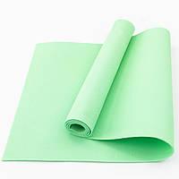 Коврик (каремат) для йоги, фитнеса, танцев OSPORT Колибри (FI-0077) Салатовый