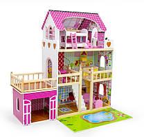 Игровой кукольный домик для Барби Avko Вилла Венецияс Led подсветкой и 2-мя куклами