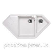 Кухонна мийка Lidz 1000x500/225 WHI-01 (LIDZWHI011000500225)