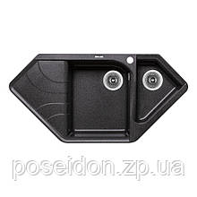Кухонна мийка Lidz 1000x500/225 GRF-13 (LIDZGRF131000500225)