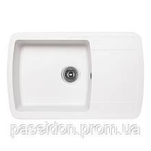 Кухонна мийка Lidz 770x490/200 WHI-01 (LIDZWHI01770490200)