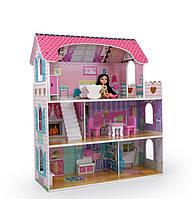 Кукольный домик игровой Avko Вилла Флоренция и 2 куклы