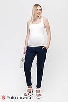 Стильные тонкие синие брюки для беременных EVAN TR-21.011 Юла мама