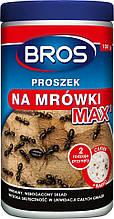 Порошок от муравьев, средство для уничтожения гнезд муравьев 100 г MAX, Bros