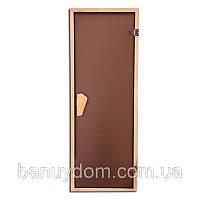 """Двери для сауны Tesli """"Tesli""""1900*700"""