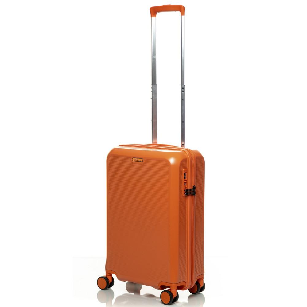 Чемодан V&V Travel PC 023-55 ORANGE