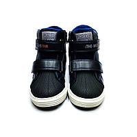 Ботинки для мальчика 30-19см, 31р-19.5см. Кроссовки на флисе для мальчика