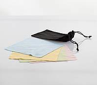 Мешочек и салфетка (микрофибра) для очков