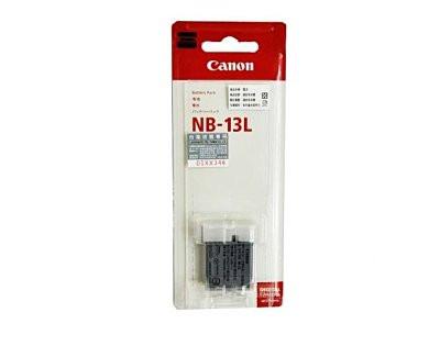 Аккумулятор NB-13L для камер CANON PowerShot G1X Mark III, G5X, G5X Mark II, G7X, G7X MARK II, G7Х Mark III