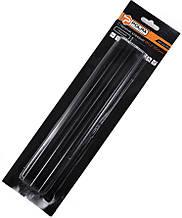 Стержні клейові Polax чорні 11,2 х 200 мм 6 шт (32-008)