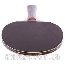 Набор для настольного тенниса 2 ракетки, 3 мяча MK 0204 (древесина, резина, пластик), фото 3