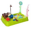 Ігровий дитячий набір Риболовля з ігровим полем і рибками 391-2 (Синій), фото 3