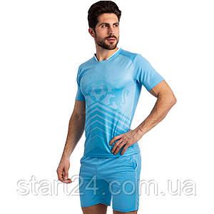 Футбольная форма SP-Sport Lion 1701-B (PL, р-р M-2XL-44-52, рост 165-185см, голубой)