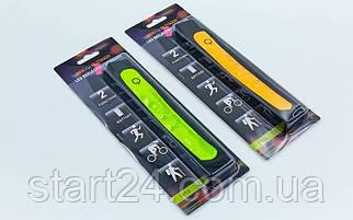 Повязка светодиодная отражающая 1P10 Led Reflective Armband (1 LED, нейлон, на липучках)
