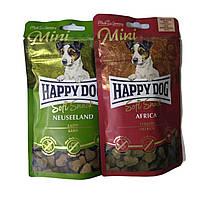 Ласощі для собак Happy Dog Soft Snack Mini для малих порід 100г