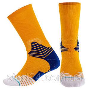 Носки спортивные для баскетбола DML7253 (полиэстер, хлопок, р-р 40-45, цвета в ассортименте)