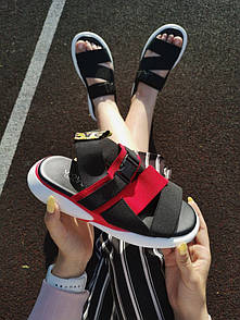 Женские сандалиии OFF White Sandal Black