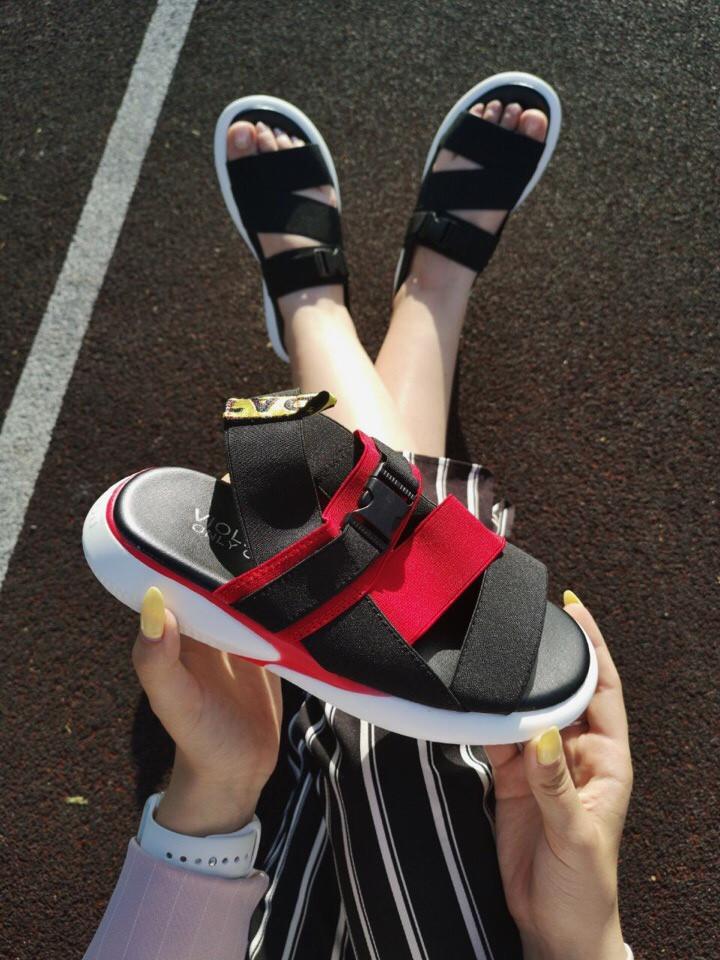Жіночі сандалі OFF White Sandal Black