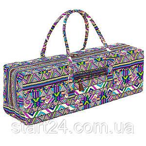Сумка для фитнеса и йоги Yoga bag FODOKO FI-6970-2 (размер 20смх19смх64см, полиэстер, хлопок,