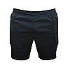 Воротарські шорти з захистом на стегнах Elite Titar чорні для дорослих і дітей, фото 2