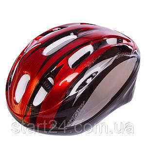 Велошлем шоссейный с механизмом регулировки Zelart MV10 (EPS, пластик, PVC, р-р S-L(53-61), цвета в