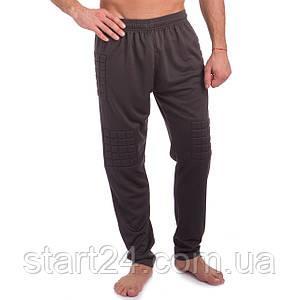 Штаны футбольного вратаря LD-5202 (PL, р-р S-3XL-44-56, рост-140-185см, черный)