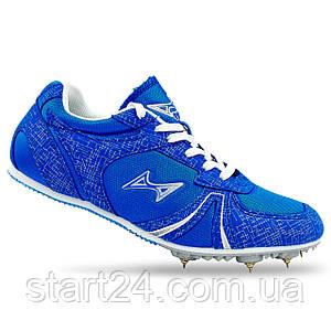 Шиповки бігові Health 599-1 розмір 35-43 синій