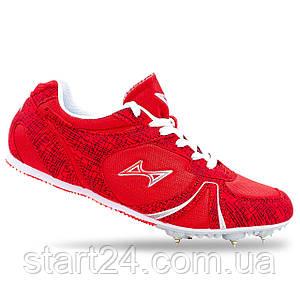 Шиповки бігові Health 599-2 розмір 35-43 червоний