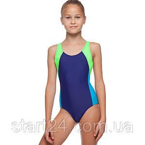 Купальник для плавания слитный детский LIPHS 6904 размер M-2XL рост 100-140см цвета в ассортименте
