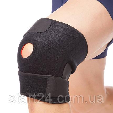Наколінник-ортез колінного суглоба відкривши. з спирал. ребрами жорсткості (1шт) EXTREME 733CA (регул.), фото 2