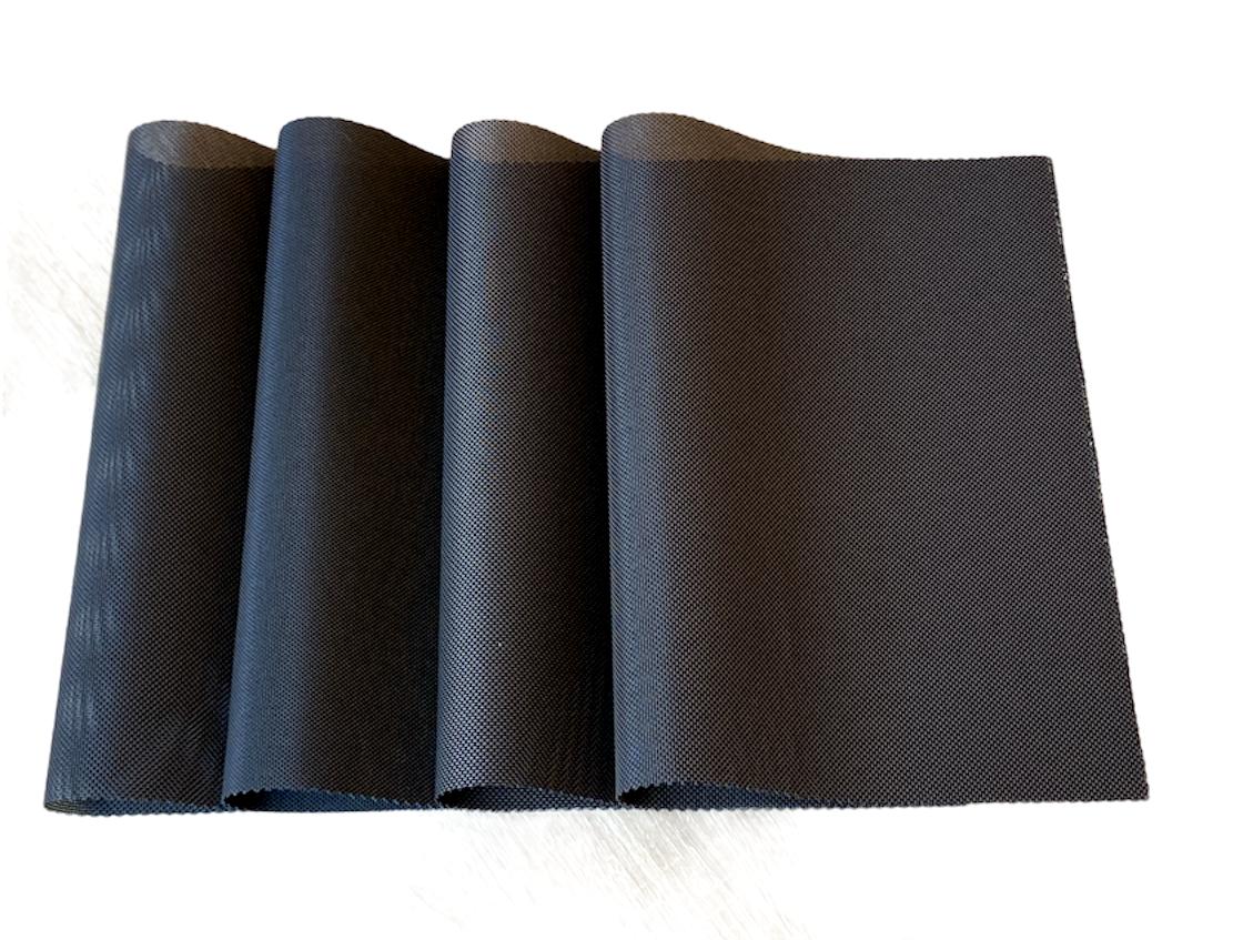 Набор 4 шт сервировочных ковриков под тарелки, подставки под горячее  30*45 см Коричневые