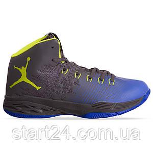 Кроссовки баскетбольные Jordan W8508-4 размер 41-45 черный-синий