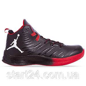 Кроссовки баскетбольные Jordan W8509-2 размер 41-45 черный-красный