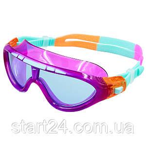 Очки-полумаска для плавания детские SPEEDO BIOFUSE RIFT JUNIOR 801213C102 (поликарбонат, термопластичная