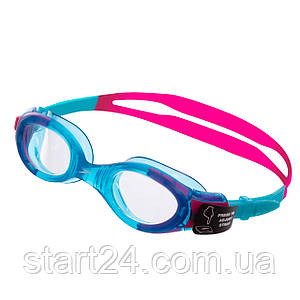 Очки для плавания детские SPEEDO FUTURA BIOFUSE JUNIOR 8012330000 (поликарбонат,термопластичная резина,