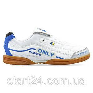 Обувь для футзала мужская Zelart OB-90205-WT размер 40-45 белый