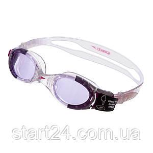 Очки для плавания детские SPEEDO FUTURA BIOFUSE JUNIOR 8012337239 (поликарбонат,термопластичная резина,