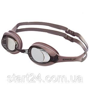 Очки для плавания SPEEDO MERIT 8028378909 (поликарбонат, термопластичная резина, силикон, цвета в