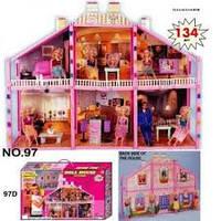 детский дом для барби 97 на 134 элемента
