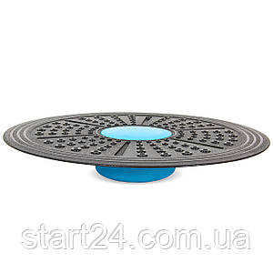 Диск балансировочный с регулировкой высоты SP-Planeta BALANCE BOARD FI-7214 (пластик, d-41см, h-5,4см,6см,7см,