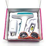 Епілятор лазерний фотоепілятор Kemei KM 6813 домашній для всього тіла, фото 10