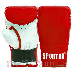 Снарядні рукавички Кожвініл SPORTKO UR PD-3 (р-р S-XL, кольори в асортименті)