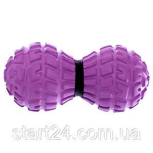 Масажер для спини Record DuoBall MASSAGE BALL FI-8231 (EVA, PVC, розмір 13,6x6,5см, кольори в асортименті)