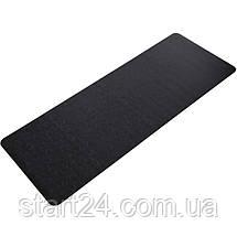 Коврик для йоги PU 6мм Record FI-8308-1 (размер 1,83мx0,68мx6мм, черный), фото 3