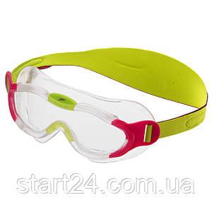 Очки-полумаска для плавания детские SPEEDO SEA SQUAD MASK 8087638028 (пропионат целлюлозы, термопластичная