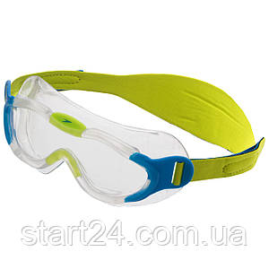 Очки-полумаска для плавания детские SPEEDO SEA SQUAD MASK 8087638029 (пропионат целлюлозы, термопластичная
