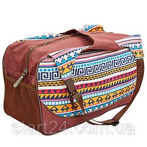 Сумка для фітнесу і йоги Yoga bag KINDFOLK FI-8366-1 (розмір 19смх50х33см, поліестер, бавовна,